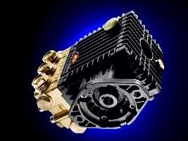 Pompe per motore idraulico